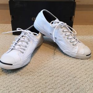 White Jack Purcell by Converse